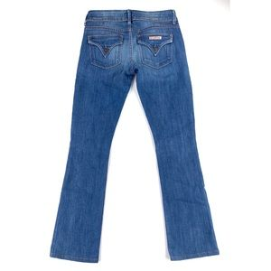 HUDSON $195 Beth Midrise Baby Boot Women's Jeans